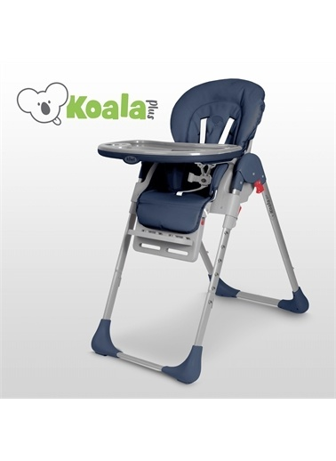 Kiwi Koala All in One Katlanır Tekerlekli Mama Sandalyesi Mavi